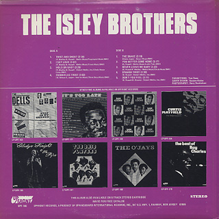 Isley Brothers / S.T. back