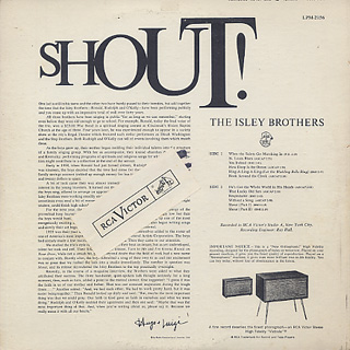 Isley Brothers / Shout! back
