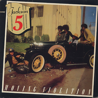 Jackson 5 / Moving Violation front