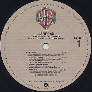 Jarreau / Jarreau label