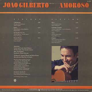 Joao Gilberto / Amoroso back