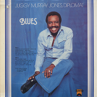 Juggy Murray Jones / Rhythm & Blues back