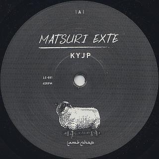 KYJP / Matsuri Exte c/w Ikeda X / Gipsy Queen back