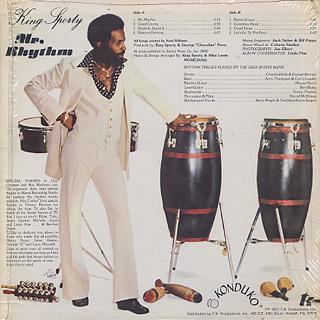 King Sporty / Mr. Rhythm back