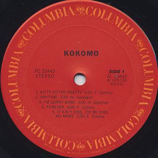 Kokomo / S.T. label