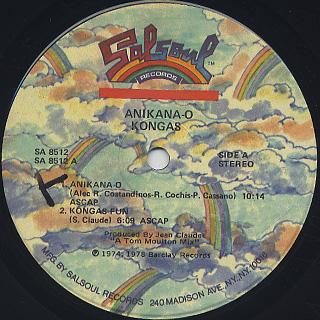 Kongas / Anikana-O label