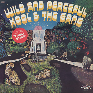 Kool and The Gang / Wild and Peaceful front