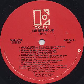 Lee Ritenour / Rit/2 label
