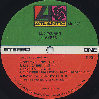 Les McCann / Layers label