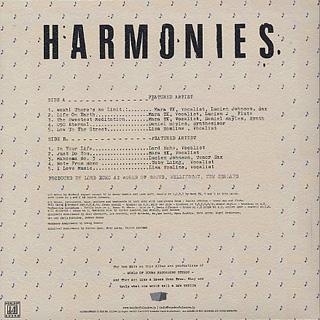 Lord Echo / Harmonies (LP) back