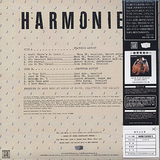 Lord Echo / Harmonies (LP) back