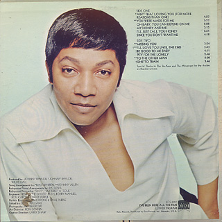 Luther Ingram / I've Been Here All The Time back