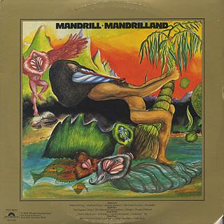 Mandrill / Mandrilland back