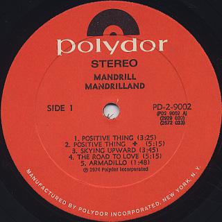 Mandrill / Mandrilland label