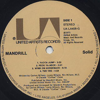 Mandrill / Solid label