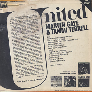 Marvin Gaye & Tammi Terrell / United back