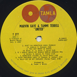 Marvin Gaye & Tammi Terrell / United label