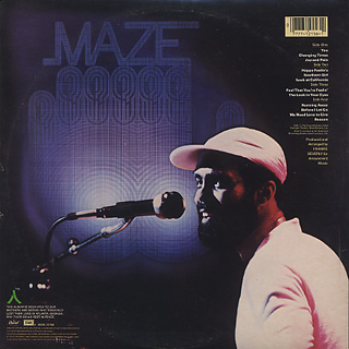 Maze Featuring Frankie Beverly / Live In New Orleans back
