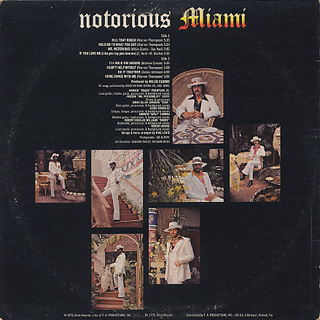 Miami / Notorius Miami back