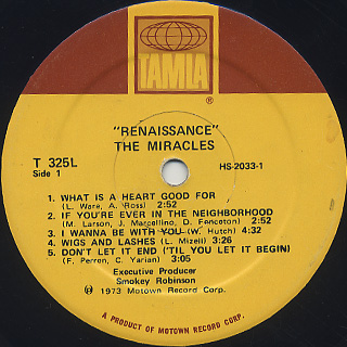Miracles / Renaissance label
