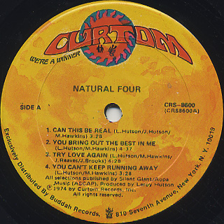 Natural Four / S.T. label
