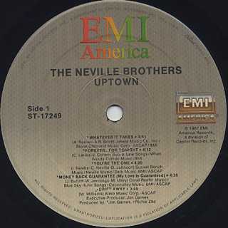 Neville Brothers / Uptown label