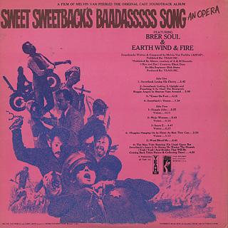 O.S.T.(Melvin Van Peebles) / Sweet Sweetback's Baadasssss Song back