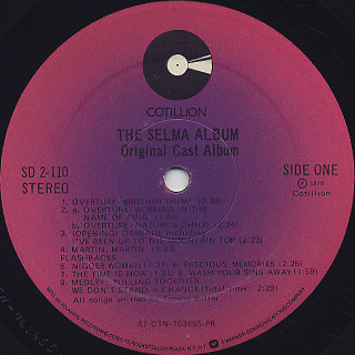 O.S.T. / The Selma label