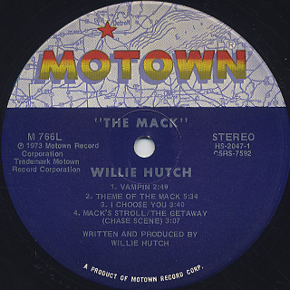 O.S.T.(Willie Hutch) / The Mack label