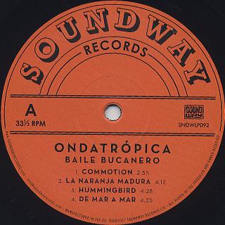 Ondatropica / Baile Bucanero label
