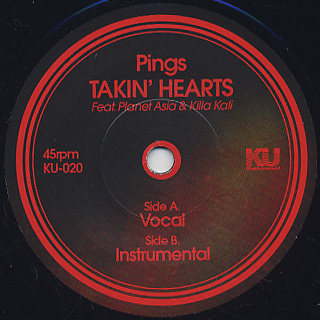 Pings / Takin' Hearts front