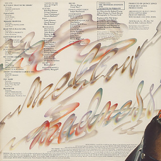 Quincy Jones / Mellow Madness back