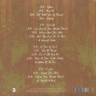 Rasul / Writing Colours (2LP) back