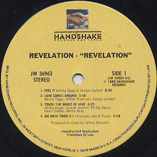 Revelation / Revelation label