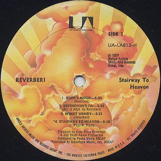 Reverberi / Stairway To Heaven label