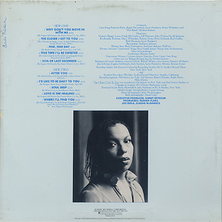 Roberta Flack / Blue Lights In The Basement back