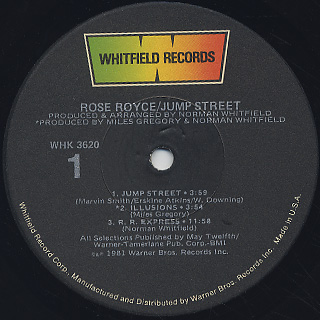 Rose Royce / Jump Street label