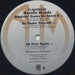 Rozalin Woods / Flashback label