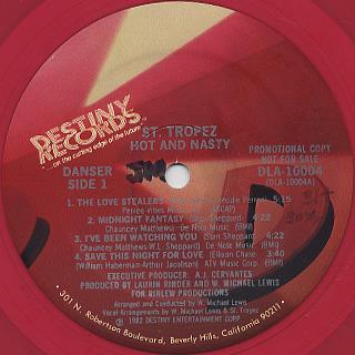 Saint Tropez / Hot And Nasty label