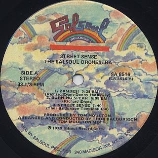 Salsoul Orchestra / Street Sense label