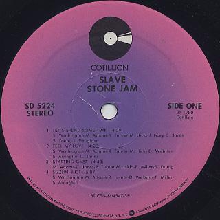 Slave / Stone Jam label