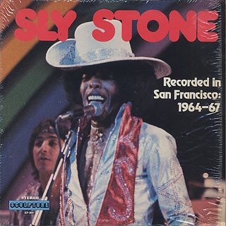 Sly Stone / Recorded In San Francisco 1964-67 front