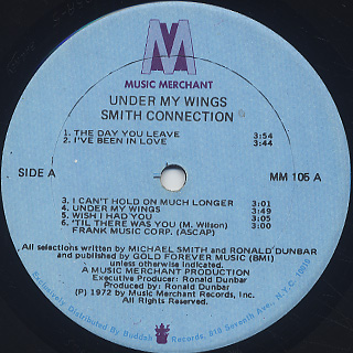 Smith Connection / Under My Wings label
