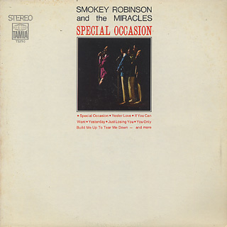 Smokey Robinson and The Miracles / Special Occasion front