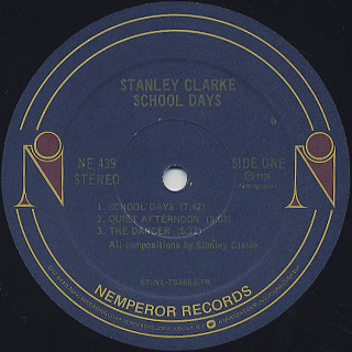 Stanley Clarke / School Days label