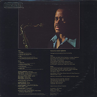 Stanley Turrentine / The Man With The Sad Face back
