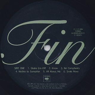 Syd / Fin label