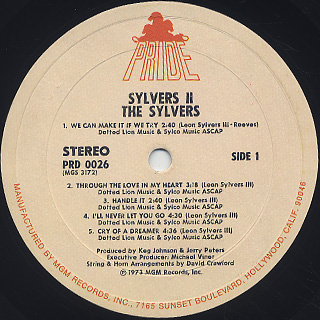 Sylvers / II label