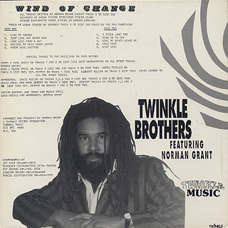 Twinkle Brothers / Wind Of Change back