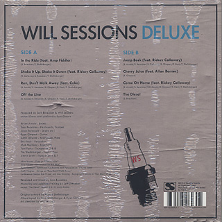 Will Sessions / Deluxe back